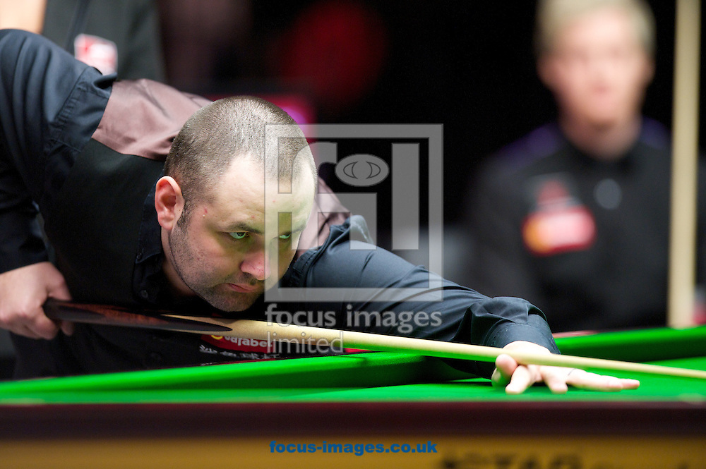 Picture by Alan Stanford/Focus Images Ltd +44 7915 056117<br /> 17/01/2014<br /> Stephen Maguire during the The Masters quarter final at Alexandra Palace, London.