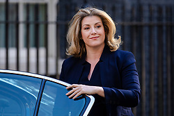 © Licensed to London News Pictures. 17/07/2018. London, UK. Secretary of State for International Development Penny Mordaunt arrives on Downing Street for the Cabinet meeting. Photo credit: Rob Pinney/LNP