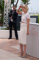 Actress Kristen Stewart at the Café Society film photo call at the 69th Cannes Film Festival Wednesday 11th May 2016, Cannes, France. Photography: Doreen Kennedy