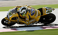 Winner Valentino Rossi, Commercial Bank Grand Prix of Qatar, MOTO GP class, Losail International Circuit, 8 April 2006