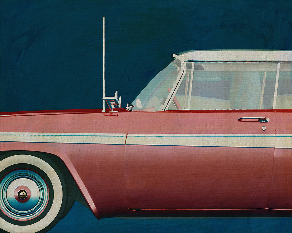 This 1957 painting of a Plymouth Belvedere Sport Sedan exudes such a beautiful design that your interior will be upgraded.<br /> You can have this painting printed on a canvas so that it is indistinguishable from the original. –<br /> <br /> <br /> BUY THIS PRINT AT<br /> <br /> FINE ART AMERICA<br /> ENGLISH<br /> https://janke.pixels.com/featured/plymouth-belvedere-sport-sedan-1957-jan-keteleer.html<br /> <br /> WADM / OH MY PRINTS<br /> DUTCH / FRENCH / GERMAN<br /> https://www.werkaandemuur.nl/nl/shopwerk/Plymouth-Belvedere-Sport-Sedan-1957/528885/132