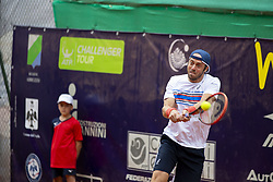 June 22, 2018 - L'Aquila, Italy - Paolo Lorenzi during match between Filippo Baldi (ITA) and Paolo Lorenzi (ITA) during day 7 at the Internazionali di Tennis Città dell'Aquila (ATP Challenger L'Aquila) in L'Aquila, Italy, on June 22, 2018. (Credit Image: © Manuel Romano/NurPhoto via ZUMA Press)