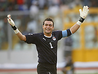 Photo: Steve Bond/Richard Lane Photography.<br /> Egypt v Cameroun. Africa Cup of Nations. 22/01/2008. Kamal El Hadary celebrates the second goal