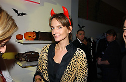 SAFFRON ALDRIDGE at a party to celebrate the launch of DKNY Kids and Halloween in aid of CLIC Sargent and RX Art held at DKNY, 27 Old Bond Street, London on 31st October 2006.<br /><br />NON EXCLUSIVE - WORLD RIGHTS