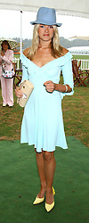 ISABELLA ANSTRUTHER-GOUGH-CALTHORPE at the 2005 Cartier International Polo between England & Australia held at Guards Polo Club, Smith's Lawn, Windsor Great Park, Berkshire on 24th July 2005.<br />