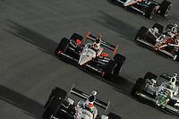 Helio Castroneves, Tony Kanaan, Scott Dixon, Cafes do Brasil Indy 300, Homestead Miami Speedway, Homestead, FL USA,10/2/2010
