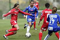 Fotball<br /> La Manga - Spania<br /> 30.03.2009<br /> Team Strømmen v Kolbotn 2-2<br /> Foto: Morten Olsen, Digitalsport<br /> <br /> Ingrid Moe Wold - TS<br /> Miriam Mumtaz - KOL