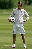 Photo: Paul Thomas.<br /> England Training Session. 01/06/2006.<br /> <br /> David Beckham.