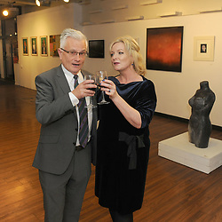 Patrick O&rsquo;Neill and Karen Whyte<br />Westival Gallery October 2018,<br /> Photo Conor McKeown