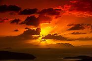 New Caledonia-Noumea-Sunrise panoramas