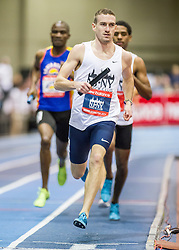 New Balance Indoor Grand Prix track & field, Mens 4x800 meter relay, Gagnon