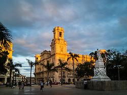 Havana vieja. Museo Nacional de Bellas Artes de La Habana. National Museum of Fine Arts of Havana. Jose Marti monument.