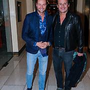 NLD/Amsterdam/20130309 - Modeshow Mart Visser zomer 2013, Fred van Leer en Leco Zadelhof