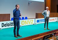 UTRECHT -Hans Smith en Richard Kleve  , sprekers  . Nationaal Hockey Congres van de KNHB, COPYRIGHT KOEN SUYK