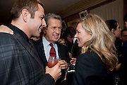 DAVID WALLIAMS; MARIO TESTINO; KATE MOSS, Graydon Carter hosts a diner for Tom Ford to celebrate the London premiere of ' A Single Man' Harry's Bar. South Audley St. London. 1 February 2010