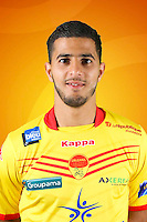 Farid BEZIOUEN of Orleans during photo call of Us Orleans for new Ligue 2 season on September 29th 2016<br /> Photo : Uso / Icon Sport