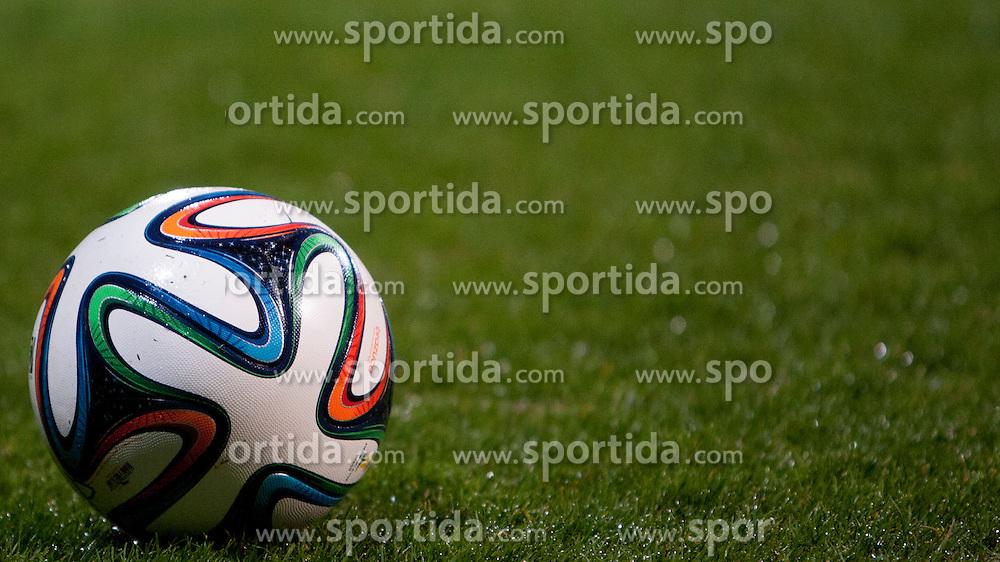 Ball during football game between FC Luka Koper and ND Gorica in 24th Round of Prva liga Telekom Slovenije 2013/14, on March 29, 2014 in Bonifika, Koper, Slovenia. Photo by Urban Urbanc / Sportida
