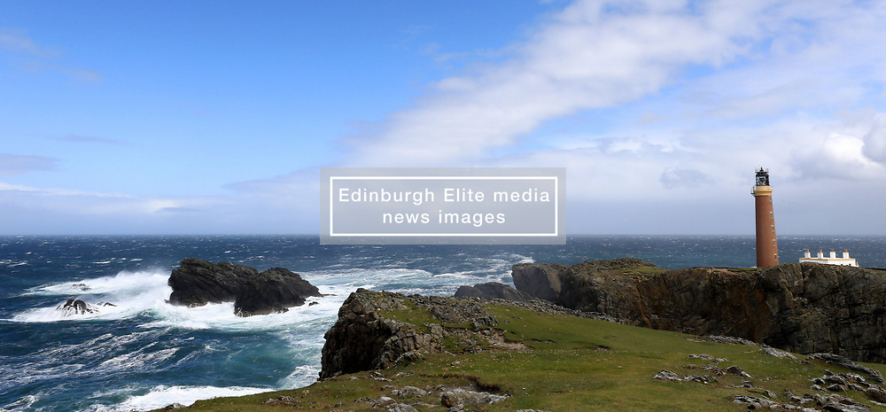 The Butt of Lewis is the most northerly point of Lewis in the Outer Hebrides. The headland, which lies in the North Atlantic is frequently battered by heavy swells and storms and is marked by the Butt of Lewis Lighthouse....... (c) Stephen Lawson | Edinburgh Elite media