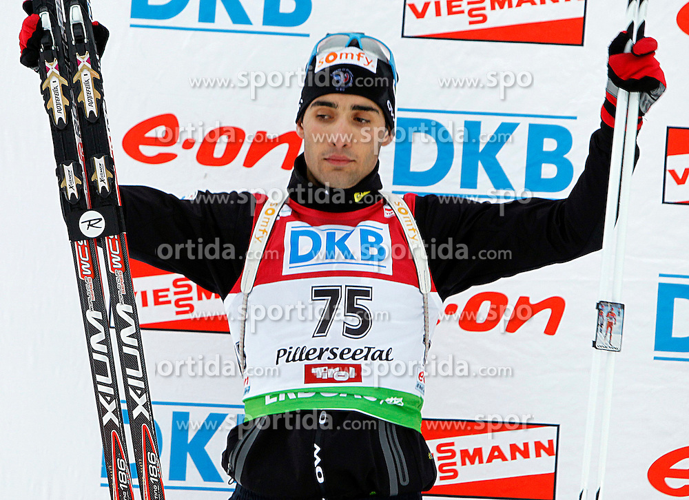 15.12.2011, Biathlonzentrum, Hochfilzen, AUT, E.ON IBU Weltcup, 3. Biathlon, Hochfilzen, Sprint Maenner, im Bild Martin Fourcade (FRA) // during Sprint men E.ON IBU World Cup 3th Biathlon, Hochfilzen, Austria on 2011/12/15. EXPA Pictures © 2011, PhotoCredit: EXPA/ Oskar Hoeher