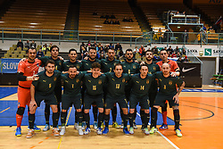 Team Italy before futsal friendly match between National teams of Slovenia and Italy, on December 3, 2019 in Maribor, Slovenia. Photo by Milos Vujinovic / Sportida