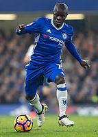 Football - 2016/2017 Premier League - Chelsea V Tottenham Hotspur<br /> <br /> Ngolo Kante of Chelsea at Stamford Bridge.<br /> <br /> COLORSPORT/DANIEL BEARHAM