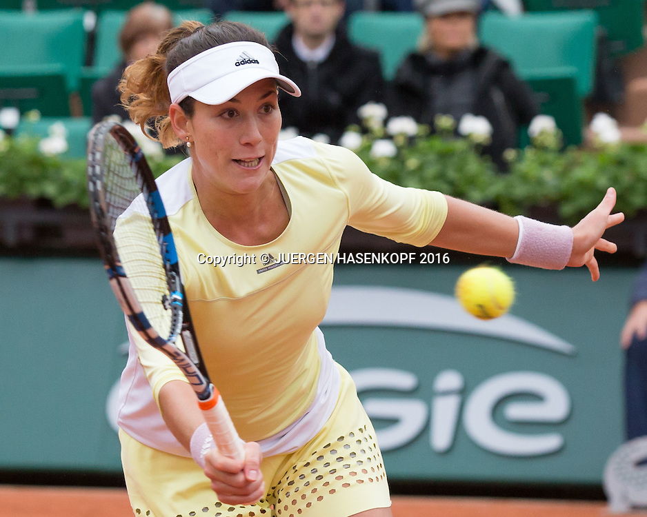 Garbine Muguruza (ESP)<br /> <br /> Tennis - French Open 2016 - Grand Slam ITF / ATP / WTA -  Roland Garros - Paris -  - France  - 3 June 2016.