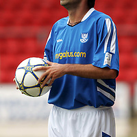 St Johnstone season 2005/06<br />Goran Stanic<br /><br />Picture by Graeme Hart.<br />Copyright Perthshire Picture Agency<br />Tel: 01738 623350  Mobile: 07990 594431