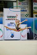Nastia Mazzoni from Etruria team during the Italian Rhythmic Gymnastics Championship in Padova, 25 November 2017.