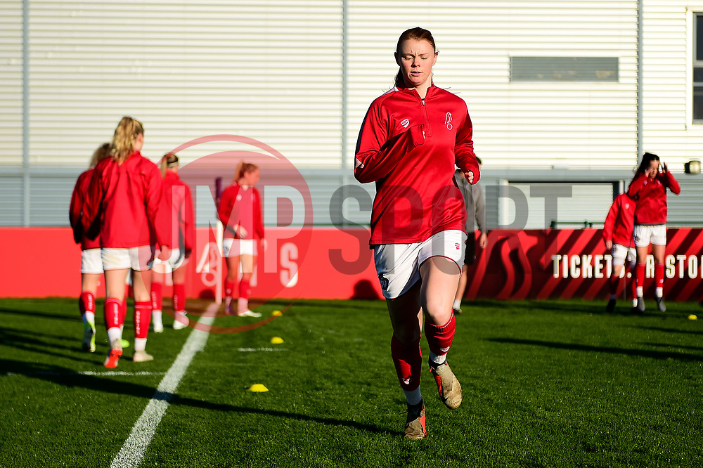 Meaghan Sargeant of Bristol City - Mandatory by-line: Ryan Hiscott/JMP - 19/01/2020 - FOOTBALL - Stoke Gifford Stadium - Bristol, England - Bristol City Women v Liverpool Women - Barclays FA Women's Super League