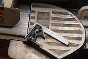 Tools in the Patton Design studio in Campbell, California, on November 13, 2015. (Stan Olszewski/SOSKIphoto)