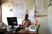 Michael Zoogah is the head teacher at Tonga Junior High School in Talensi Nabdam, Ghana.