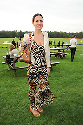 SOPHIE ANDERTON at the 4th Jaeger-LeCoultre Polo Cup in aid of the James Wentworth-Stanly Memorial Fund held at Coworth Park, Ascot, Berkshire on 10th September 2010.