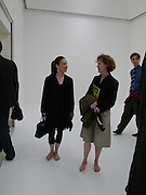 Maureen Paley and Mary Doyle, Paul Noble and Tobias Rehberger opening, Whitechapel. 9 September 2004.  SUPPLIED FOR ONE-TIME USE ONLY-DO NOT ARCHIVE. © Copyright Photograph by Dafydd Jones 66 Stockwell Park Rd. London SW9 0DA Tel 020 7733 0108 www.dafjones.com