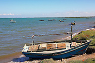 Fishing boats in Campechuela, Granma, Cuba.