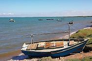 Fishing boats in Campechuela, Granma, Cuba.