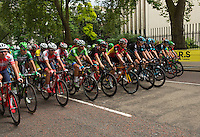 LONDON UK 31ST JULY 2016:  Peleton travel down Birdcage Walk. The Prudential RideLondon-Surrey Classic  in London 31st July 2016<br /> <br /> Photo: Jon Buckle/Silverhub for Prudential RideLondon<br /> <br /> Prudential RideLondon is the world's greatest festival of cycling, involving 95,000+ cyclists – from Olympic champions to a free family fun ride - riding in events over closed roads in London and Surrey over the weekend of 29th to 31st July 2016. <br /> <br /> See www.PrudentialRideLondon.co.uk for more.<br /> <br /> For further information: media@londonmarathonevents.co.uk