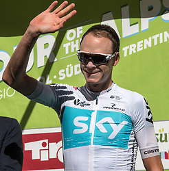 20.04.2018, Innsbruck, AUT, Tour of the Alps, Österreich, 5. Etappe, von Rattenberg nach Innsbruck (164,2 km), im Bild Christopher Froome (GBR, Team Sky) // Christopher Froome of Great Britain Team Sky during 5th stage from Rattenberg to Innsbruck of 2018 Tour of the Alps in Innsbruck, Austria on 2018/04/20. EXPA Pictures © 2018, PhotoCredit: EXPA/ Reinhard Eisenbauer