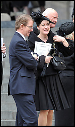 Gabby Bertin The Prime Minister's Press secretary attends Lady Thatcher's funeral at St Paul's Cathedral following her death last week, London, UK, Wednesday 17 April, 2013, Photo by: Andrew Parsons / i-Images