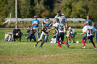 Gilford Youth Football with Merrimack Valley September 15, 2013.    © 2013 Karen Bobotas Photographer