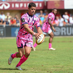 Morne Steyn of Paris during Top 14 match between Perpignan and Stade Francais on August 25, 2018 in Perpignan, France. (Photo by Alexandre Dimou/Icon Sport)