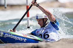 Martin SRABOTNIK of Slovenia during the Kayak Single (MK1) Mens Semi Final race of 2019 ICF Canoe Slalom World Cup 4, on June 30, 2019 in Tacen, Ljubljana, Slovenia. Photo by Sasa Pahic Szabo / Sportida