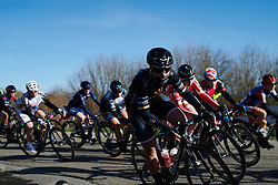Rachele Barbieri (ITA) in the bunch at Healthy Ageing Tour 2018 - Stage 3a, a 66.2 km road race starting and finishing in Winschoten on April 6, 2018. Photo by Sean Robinson/Velofocus.com