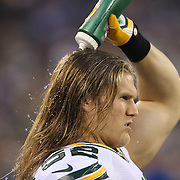 Clay Matthews, Green Bay Packers, during the New York Giants Vs Green Bay Packers, NFL American Football match at MetLife Stadium, East Rutherford, New Jersey, USA. 17th November 2013. Photo Tim Clayton