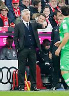 Carlo Ancellotti manager of Bayern Munich during the Bundesliga match between Bayern Munich and Borussia Monchengladbach at the Allianz Arena, Munich, Germany on 22 October 2016. Photo by Bernd Feil/pixathlon.