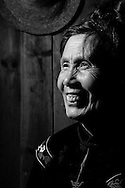 Kaili, Guizhou, China, August 10th 2007: Portrait of a 66 year old Miao woman..Photo: Joseph Feil