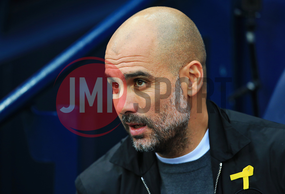 Manchester City manager Pep Guardiola - Mandatory by-line: Matt McNulty/JMP - 23/12/2017 - FOOTBALL - Etihad Stadium - Manchester, England - Manchester City v Bournemouth - Premier League