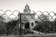 The chapel at San Xavier mission