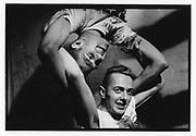 Joe Strummer and Paul Simonon of The Clash,  Shoreditch, London, 1981