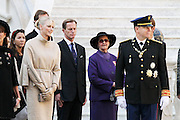 19.NOVEMBER.2011. MONACO<br /> <br /> PRINCE ALBERT II OF MONACO AND HIS WIFE PRINCESS CHARLENE AT THE PALACE FOR THE NATIONAL DAY OF MONACO, IN MONACO.<br /> <br /> BYLINE: EDBIMAGEARCHIVE.COM<br /> <br /> *THIS IMAGE IS STRICTLY FOR UK NEWSPAPERS AND MAGAZINES ONLY*<br /> *FOR WORLD WIDE SALES AND WEB USE PLEASE CONTACT EDBIMAGEARCHIVE - 0208 954 5968*