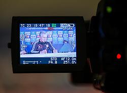 14.05.2013, Alianz Arena, Muenchen, GER, UEFA CL, FC Bayern Muenchen, Medientag, im Bild Jupp Heynckes (Trainer) // Coach Jupp Heynckes during the open media day of FC Bayern Munich in front of the UEFA Champions League Final 2013 held at the Alianz Arena, Munich, Germany on 2013/05/14